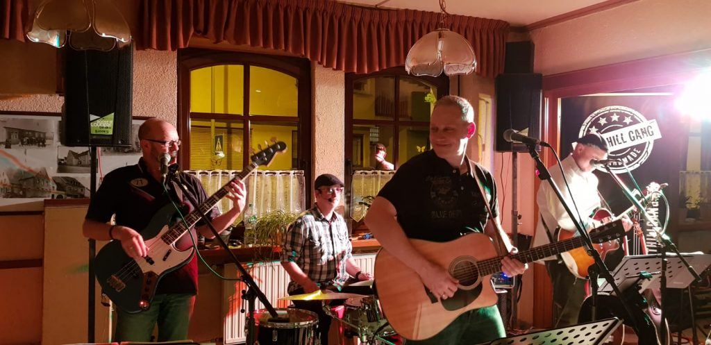 BoltHill Gang im Gasthaus Andler in Gronig